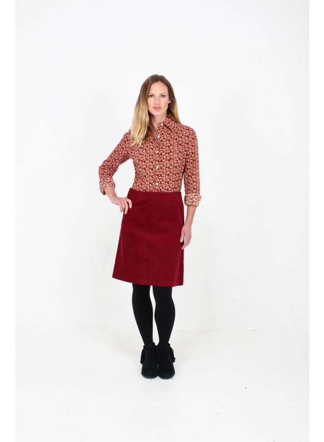JABA Leonie Shirt in Winter  Red