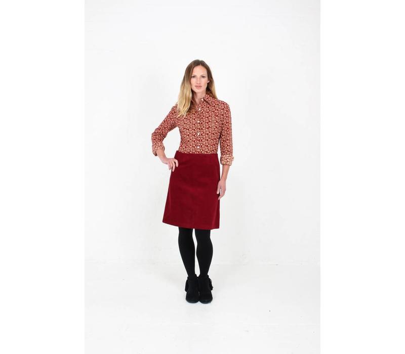 JABA Leonie Shirt in Winter Red