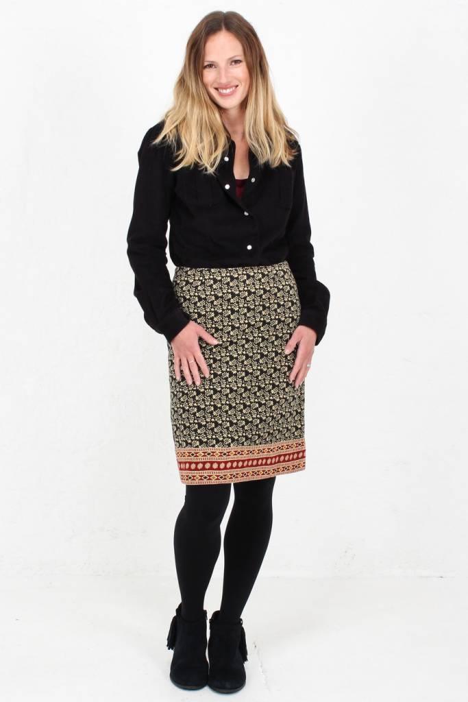 42fef993c6 JABA Lora Skirt in Winter Black · JABA Lora Skirt in Winter Black · JABA  Lora Skirt in Winter Black