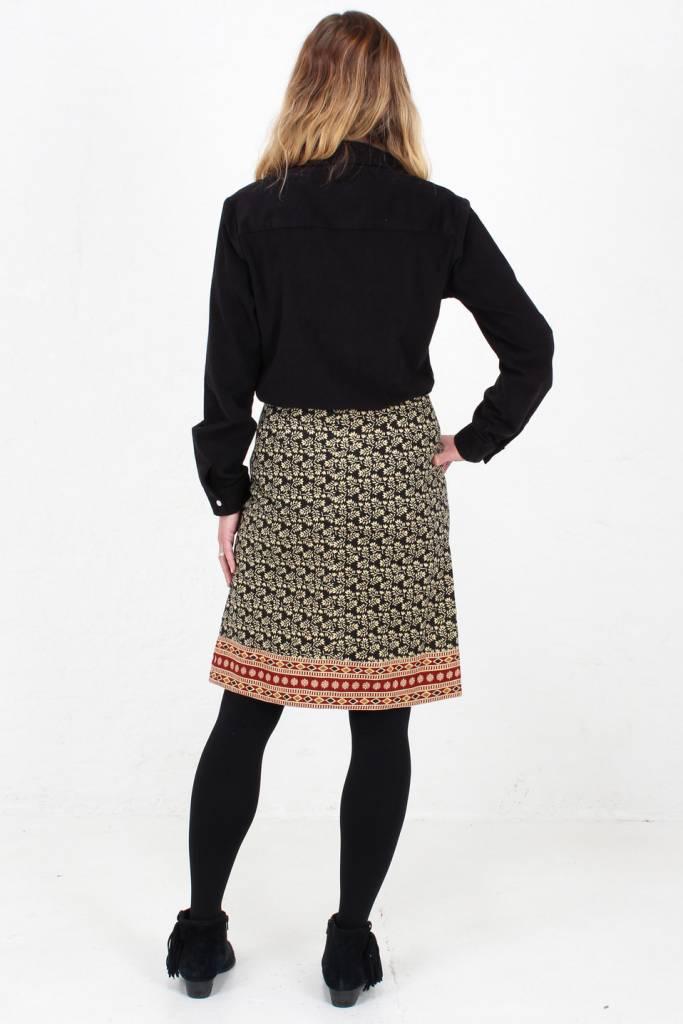 7c3efa6765 Jaba Lora Skirt in Winter Black - JABA YARD