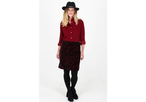 JABA JABA Velvet Embroidered Skirt