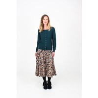 JABA Florence Skirt in Winter Flower
