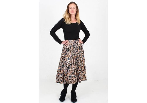 JABA JABA Florence Skirt in Winter Flower