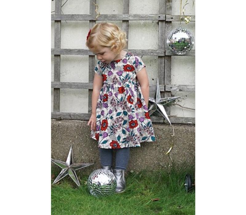 Jaba Kids Thea Dress in Wild Meadow