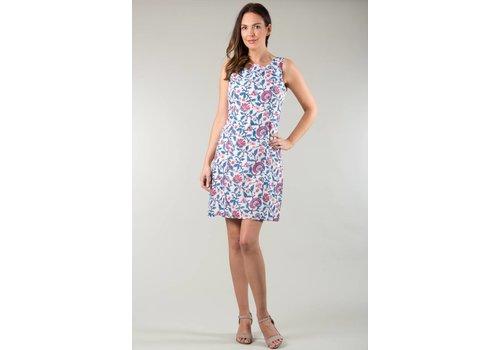 JABA JABA Nicole Dress in Pink Block