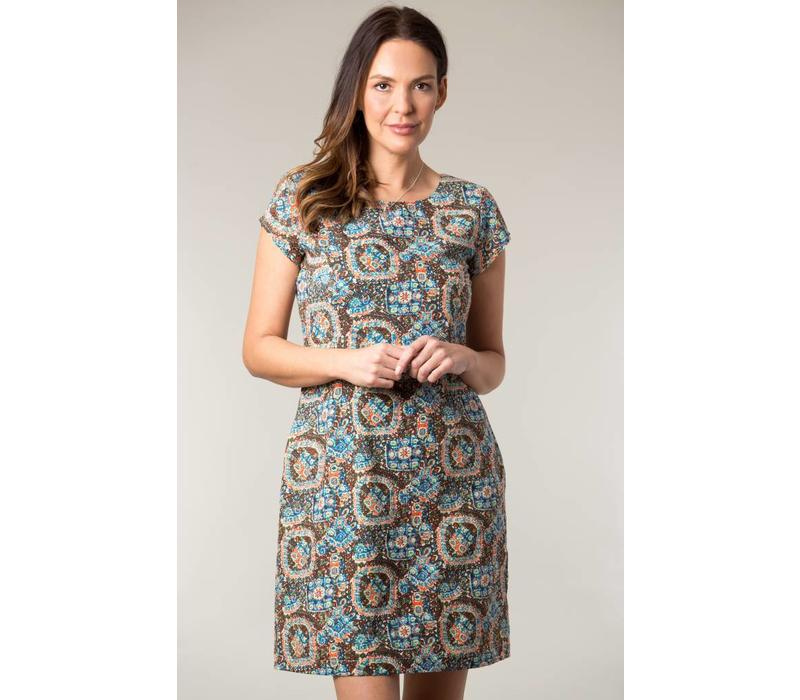 Jaba Camile Dress in Aztec