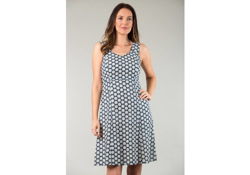 JABA JABA Sun Dress in Cog Blue