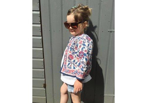 JABA Jaba Kids Reversible Jacket in Pink Block