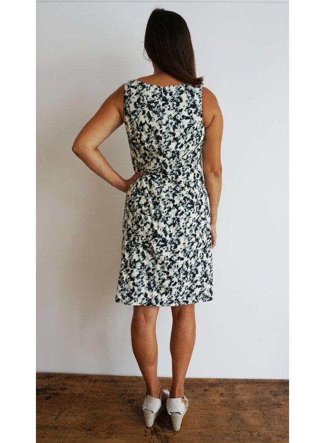 JABA Ellen Dress - Ink Spot