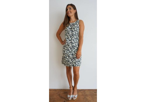 JABA JABA Audri Dress - Ink Spot