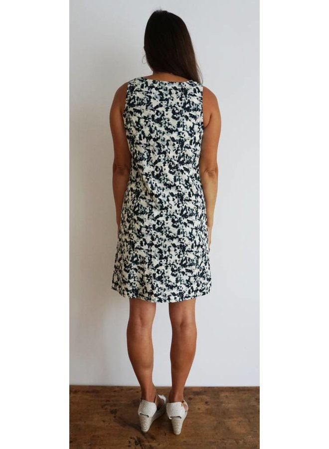 JABA Audri Dress - Ink Spot