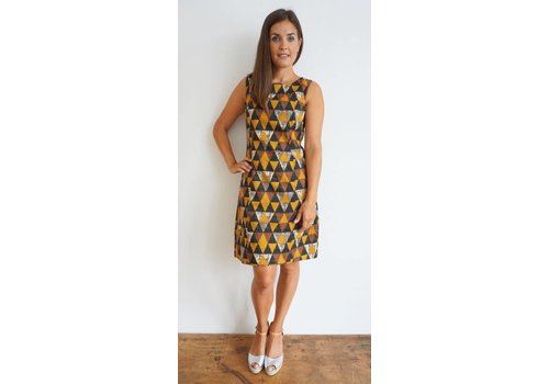 JABA JABA Nicole Dress - Triangle Print