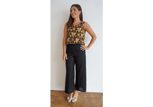 JABA JABA Zoe Top - Triangle Print