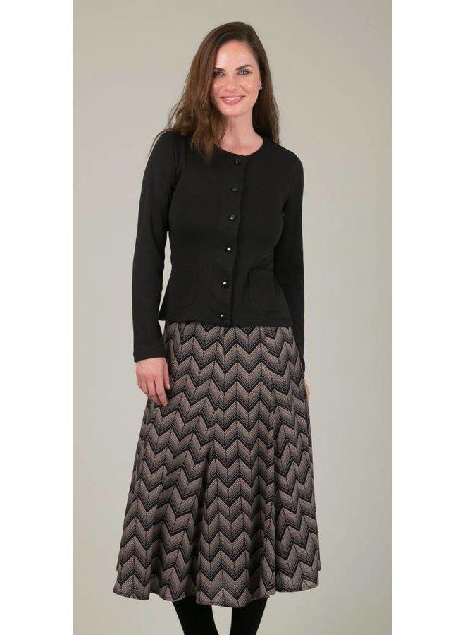 JABA Florence Skirt in ZigZag