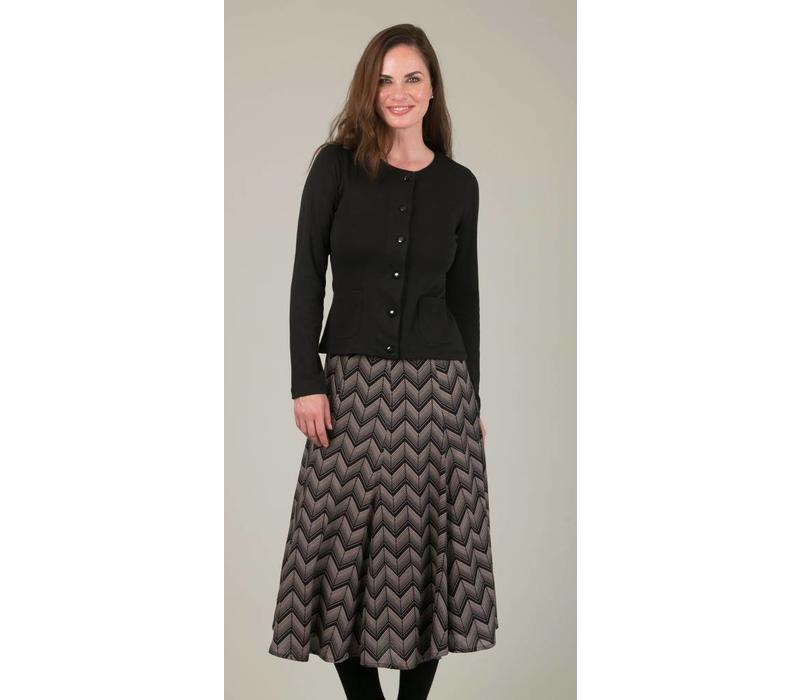 JABA Florence Skirt in ZigZag