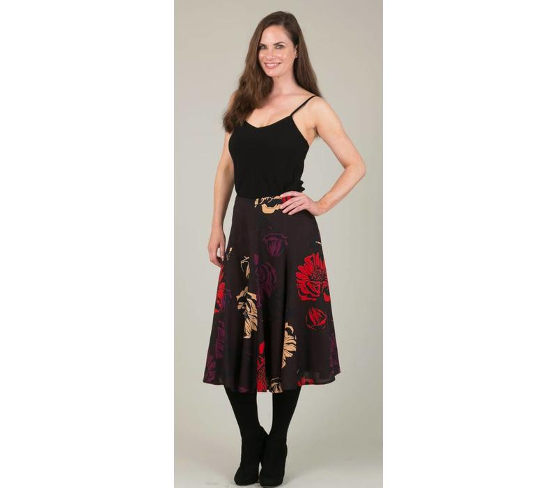 Jaba Florence Skirt in Big Flower