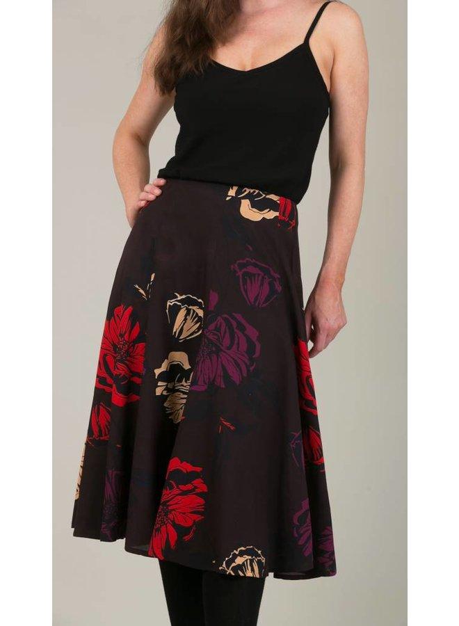 Jaba Florence Skirt in Big Flower