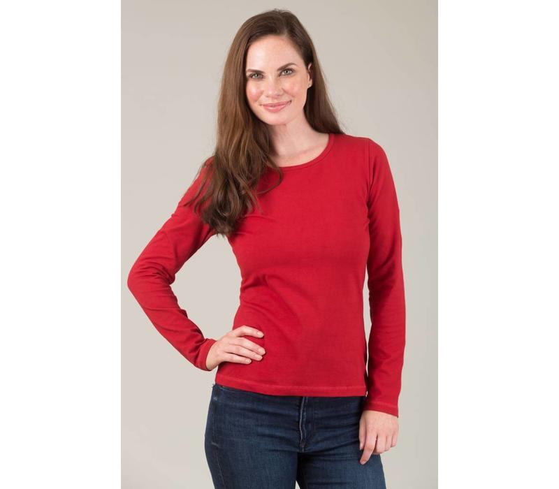 JABA Amy Top in Red