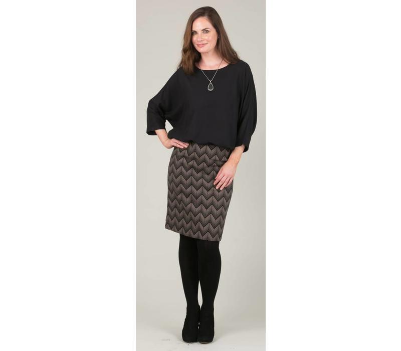 b48c9f04c8 JABA Lora Skirt in Zig Zag - JABA YARD