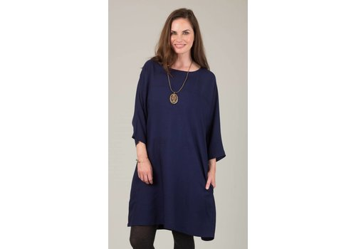 JABA Jaba Etta Dress in Navy