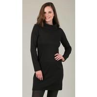 Jaba Black Roll Neck Dress