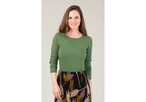 JABA JABA Amy Top in Green