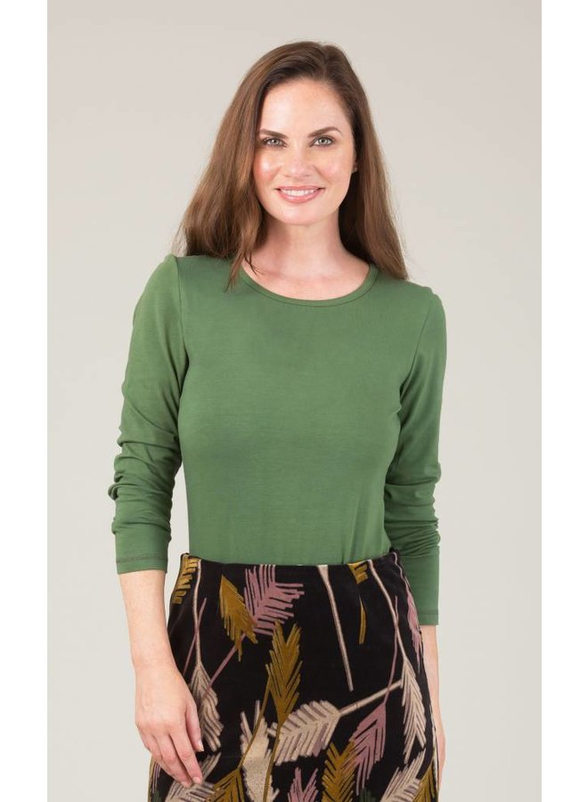 JABA Amy Top in Green