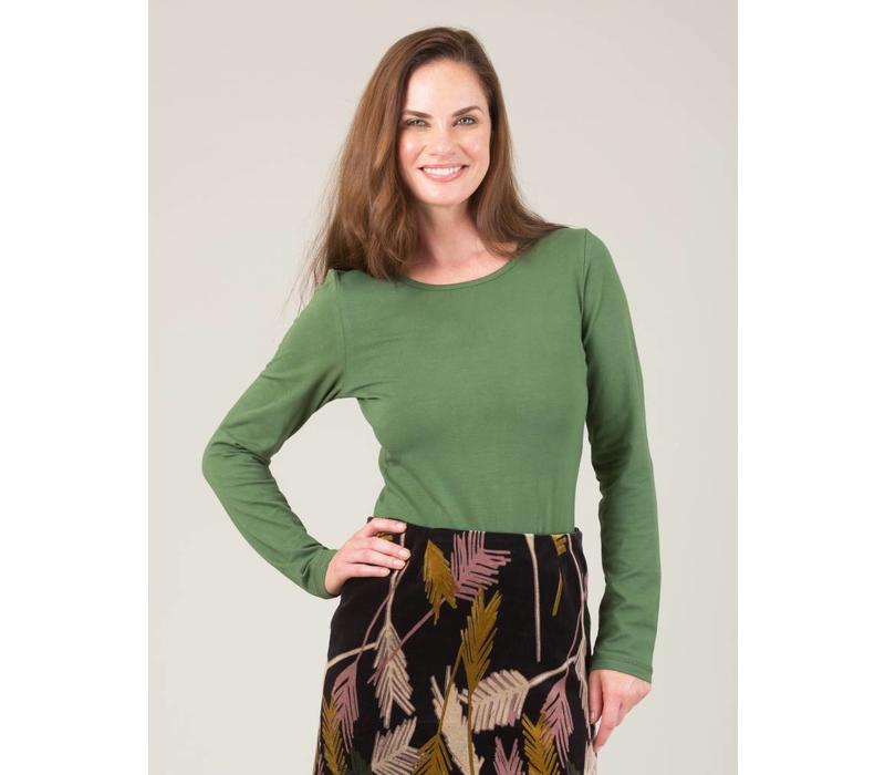JABA Amy Top in Green