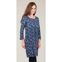 Jaba Georgina Dress in Abstract Blue