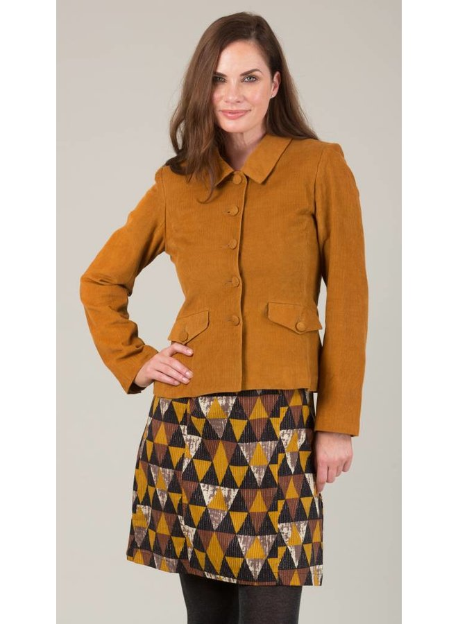 JABA Short Jacket in Ochre