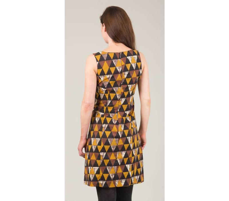 JABA Nicole Dress - Triangle Print