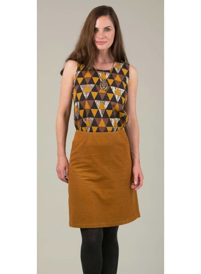 JABA Lora Skirt in Ochre