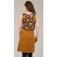 JABA Lora Skirt in Ochre