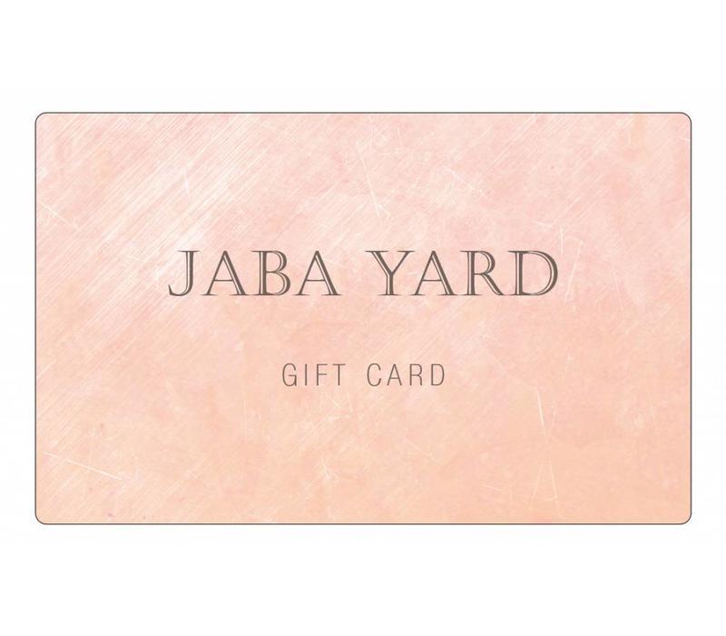JABA Gift Card