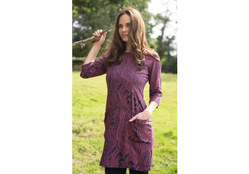 JABA Jaba Sadie Dress in Pink Paisley