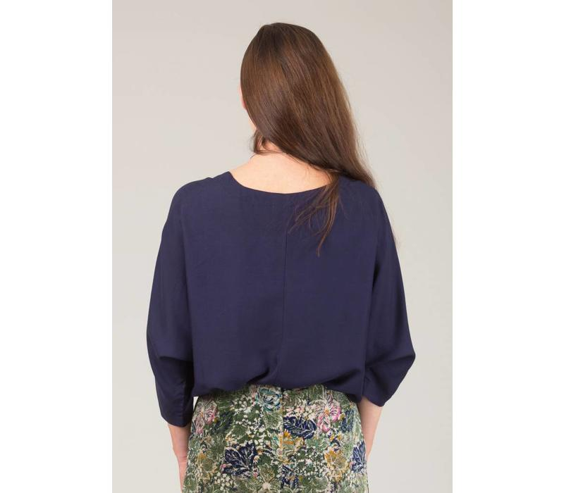 Jaba Edie Top in Navy