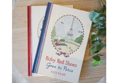 BookSpeed Ruby Red Shoes goes to Paris