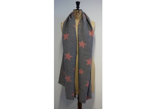 MISS SCARF QQ Reversible Star Scarf
