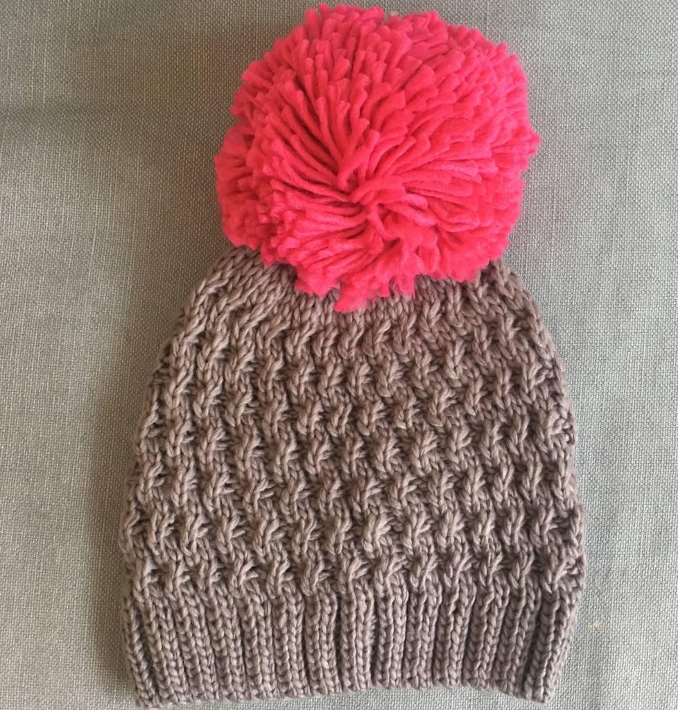 5f096f137c6 BOA Knit Hat Oversz Pom - - JABA YARD