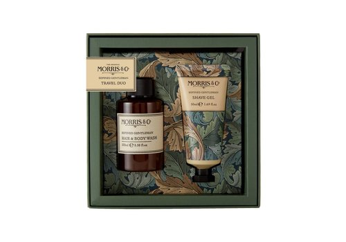 Heathcote&Ivory Morris&Co Gentleman Travel Duo