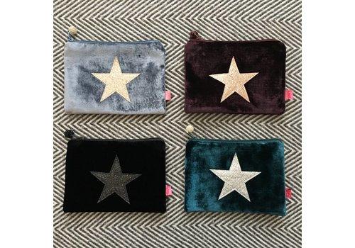 LUA Glitter Star Purse