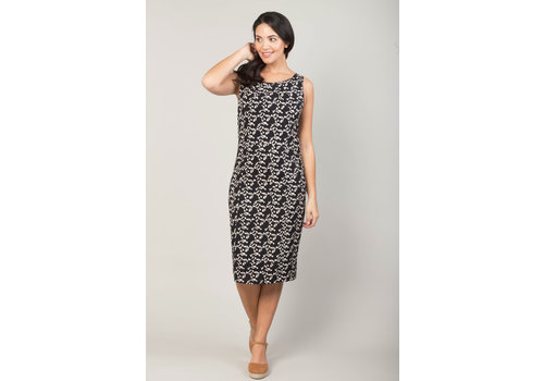 JABA Jaba Emily Dress in Black Triangle