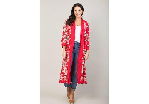 JABA Jaba Kimono in Japanese Floral