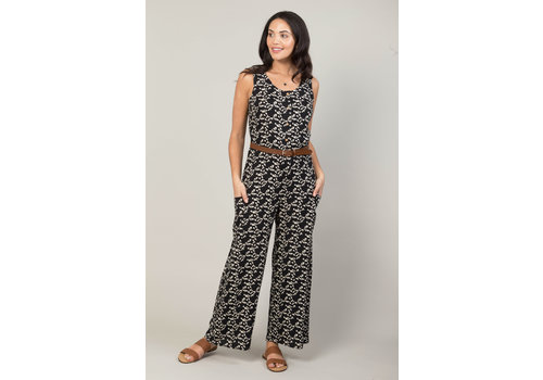 JABA Jaba Jumpsuit in Triangle Print