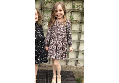 JABA Jaba Kids Leopard Print Dress