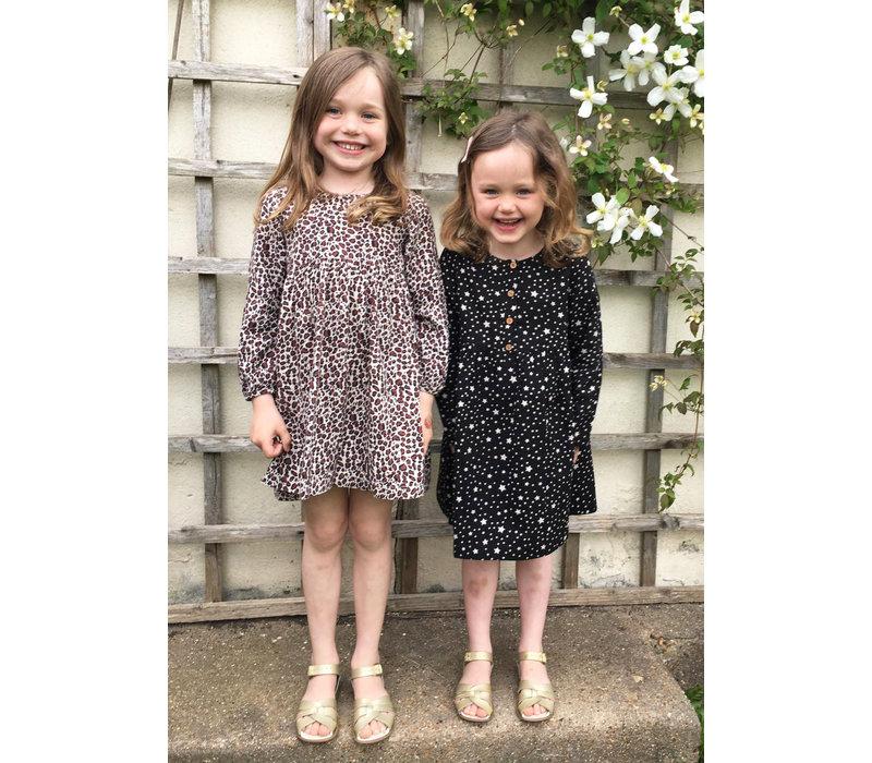 Jaba Kids Leopard Print Dress