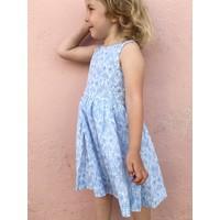 Jaba Kids Amelie Dress in Blue Flower