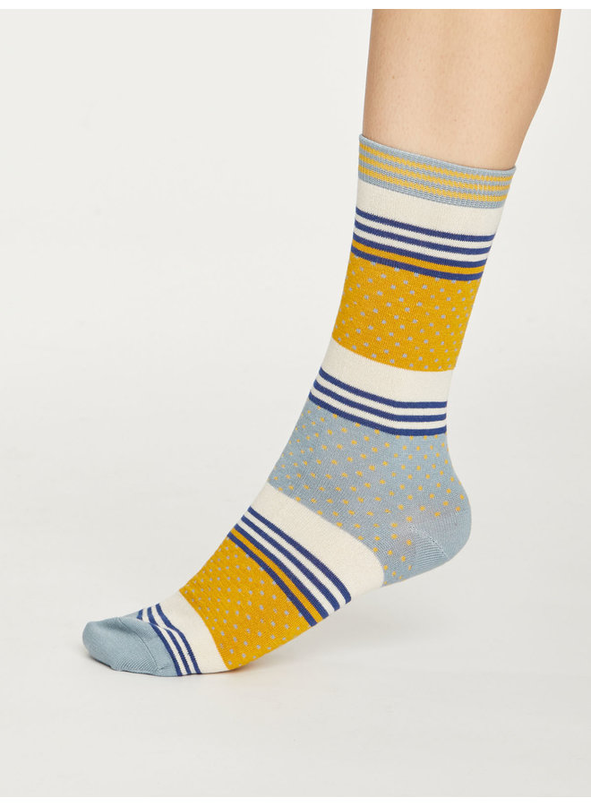 Thought Dotty Stripe Socks