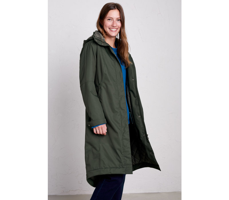 Seasalt Janelle Coat - Woodland