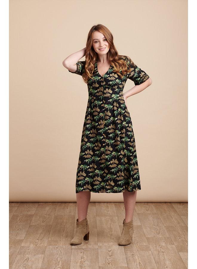 Jaba Mia Dress in Bonsai